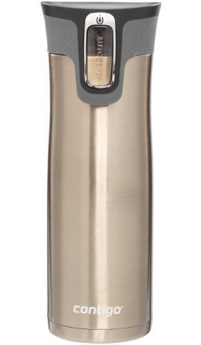 Contigo Autoseal West Loop Stainless Steel Travel Mug with Open-Access Lid (Discontinued by Manufacturer)