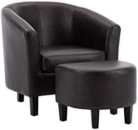 Amazon Basics Barrel Accent Chair
