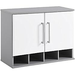 SystemBuild 7473403COM Latitude Wall Cabinet, White