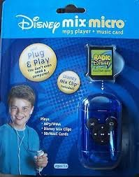 Disney Mix Micro MP3 Player and 12-Song Mix Clip Music (Disney Mp3 Player)