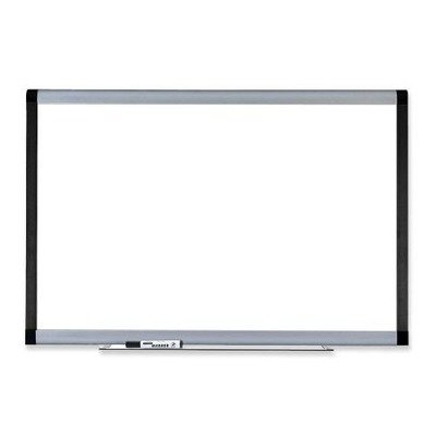 Lorell Magnetic Dry-Erase Board, 6 by 4-Feet, Silver/Ebony by Lorell
