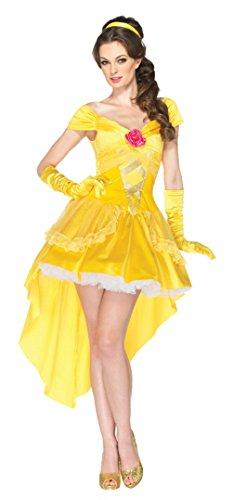 Enchanting Belle Costume - Medium/Large - Dress Size (Enchanting Belle Adult Womens Costumes)