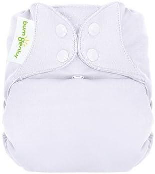 Bumgenius Elemental orgánico Niñas 6 Pack de pañales de tela todo en uno para las niñas bebé, recién nacido, niños, niño, bebé: Amazon.es: Bebé