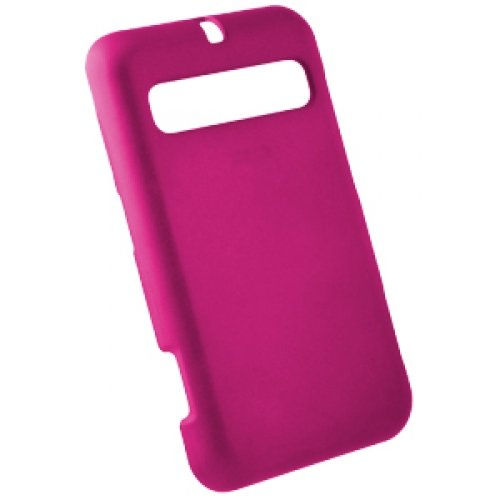 Rubberized Pink Snap-on Cover for Cal-Comp MSGM8 II A310