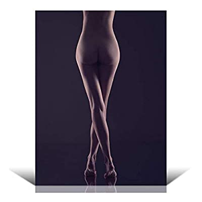 Sexy Nude Model Wall Mural, Created Just For You, Majestic Visual