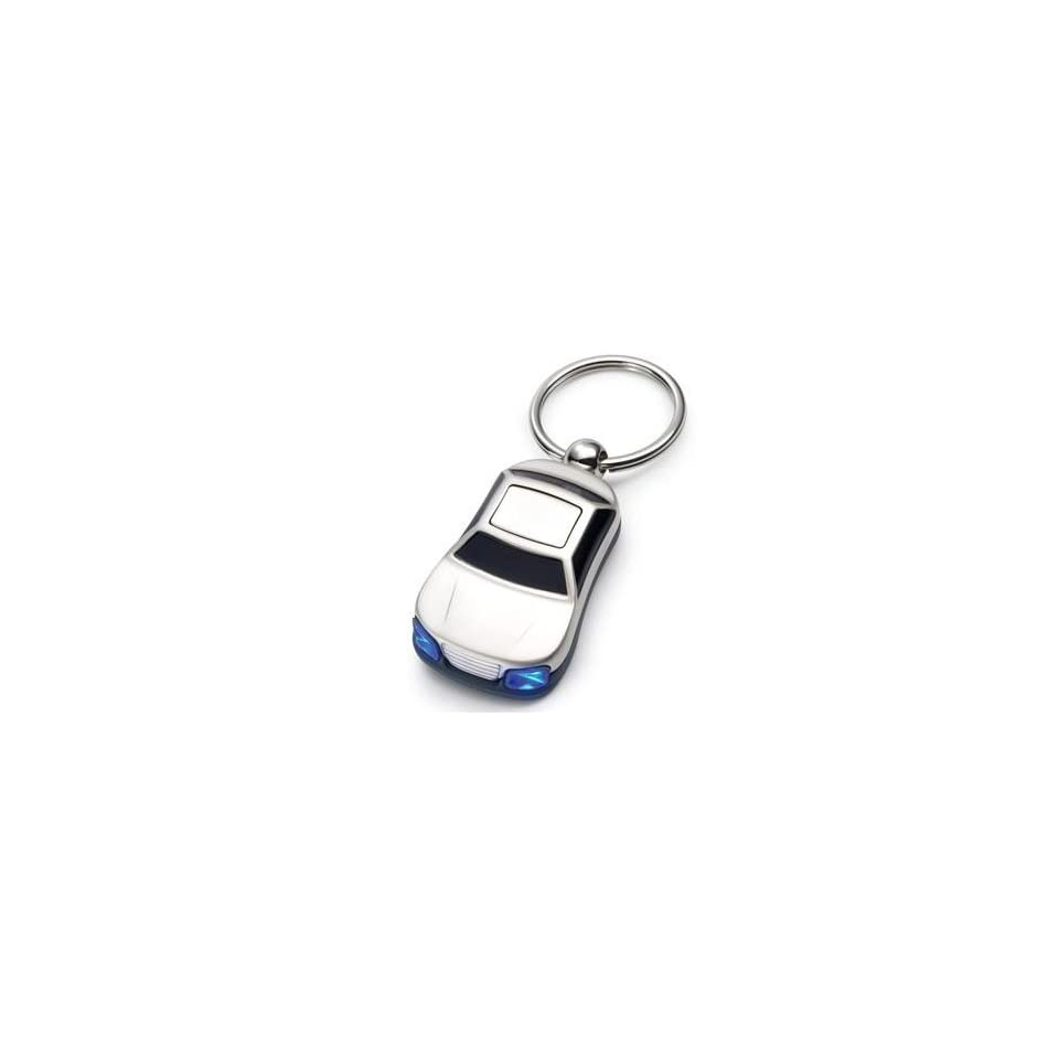 Key Chain Ring With Sports Car And Flashing LED Lights