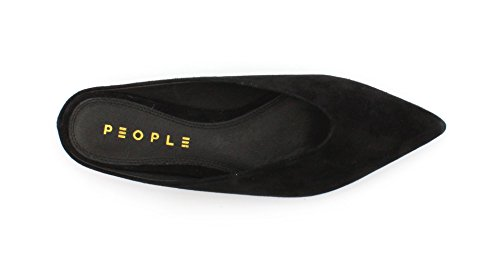 Suede WO'S Black People Aura Kid Sabot Sandal xqOw6Sn