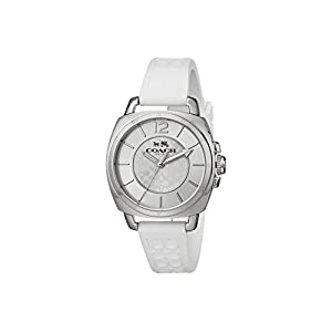 COACH Boyfriend Small 34MM Rubber Strap Watch
