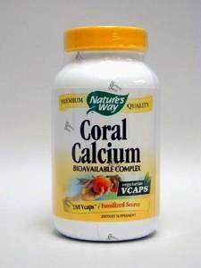 Nature's Way Coral Calcium 90 Veg Caps