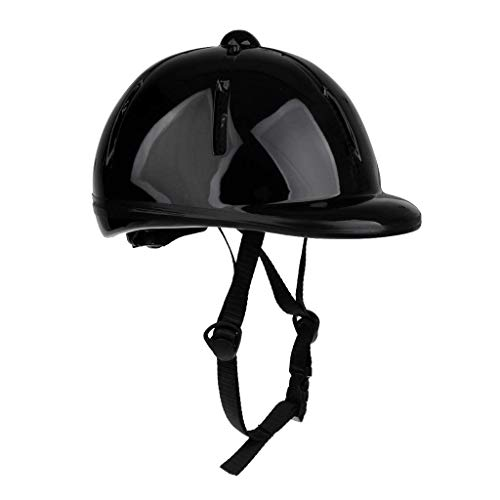 Heemtle Children Kids Adjustable Horse Riding Hat/Helmet Head Protective Gear 8 Colors Optional (Adjustable:48-54CM)