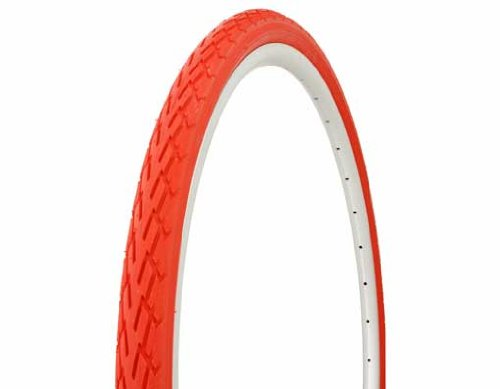Tire Duro 700 x 38c Red/Red Side Wall DB-7044. Bicycle tire, bike tire, track bike tire, fixie bike tire, fixed gear tire