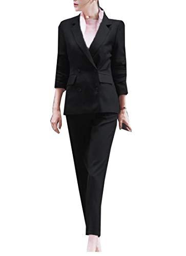 ご覧くださいカウボーイアンテナTootess 女性フレキシブルフィット固体作業摩耗オフィスプレミアムビジネススーツ
