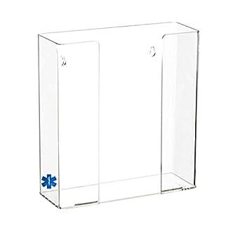 Doble médico de carga superior dispensador de guantes/guantes desechables/Kleenex dispensador, soporte