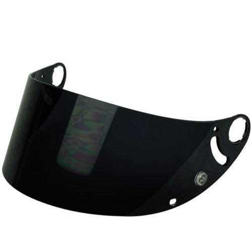 Shark Aftermarket Face Shield Visor for RSR 2 RSR2 RS2 RSX VZ32 REF Helmets (Dark Smoke) by PGR (Image #1)