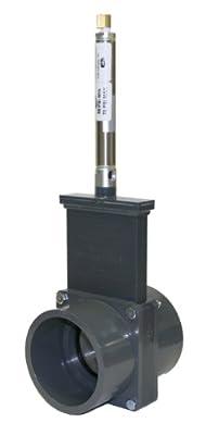 Valterra 8301PS PVC Metric Pneumatic Gate Valve, 90 mm Slip, Metal Air Cylinder from Valterra Products
