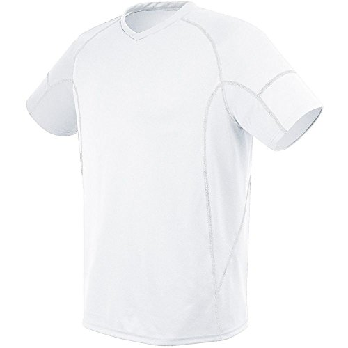 (High Five Kinetic Jersey - Youth,White/White,Medium)