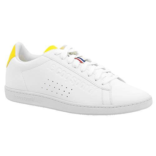 Sport Coq Le Deportivas Zapatillas Sportif Y empire Optic Courtset White t7waqwd
