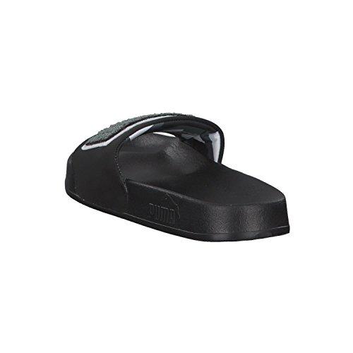 Puma Leadcat Nsk, Chaussures de Plage et Piscine Mixte Adulte Noir (Puma Black-iron Gate-puma White 01)