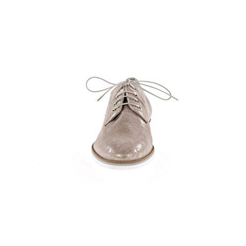 Maripe 24830 F.9370-15 Eleganti Scarpe Da Donna Stringate Ad Unaltezza Comoda Con Un Fondo Più Spesso