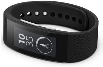 Sony Bluetooth3.0 wristband type activity meter black SONY SmartBand Tal k SWR30-B