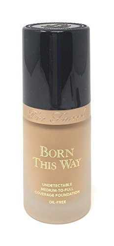- Too Faced Born This Way Medium-to-Full Coverage Foundation in Light Beige 1 OZ