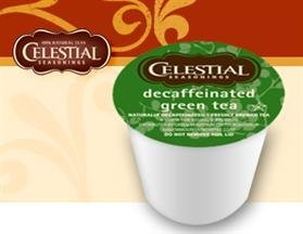 Celestial Seasonings Hot Green Tea DECAF * 5 Boxes of 24 K-Cups * by Green Mountain Coffee