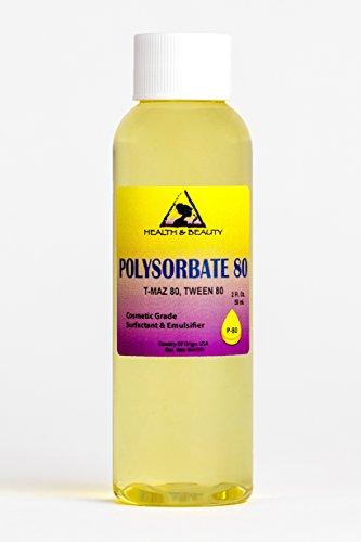 Price comparison product image Polysorbate 80 T-MAZ 80 Tween 80 Solubilizer Surfactant & Emulsifier 100% Pure 2 oz