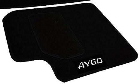 UnfadeMemory Alfombrillas para Toyota Aygo 2005-2010,Gran Ajuste y Agarre,Resistente a la Abrasi/ón,Gris Antracita