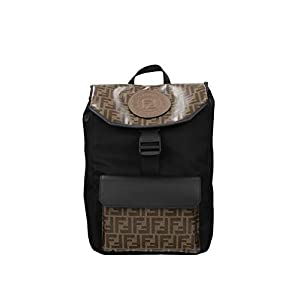 Fendi Fall – Winter 2019 Men's Large Two Tone Nylon Casual Backpack 7VZ045 A6KK F164F