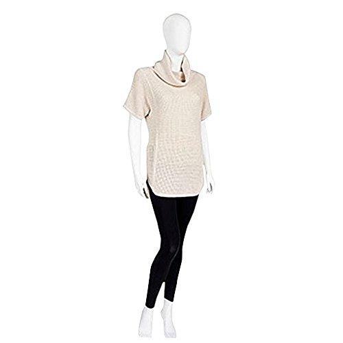 s Selby turtleneck Tunic Tops (Cream Heather,M) (Cream Heather)