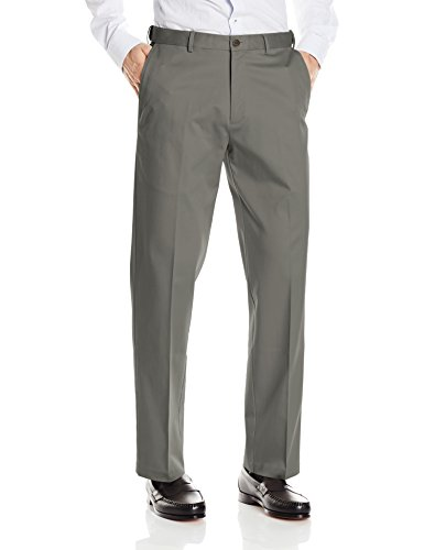 Haggar Classic Flat Front Expandable Waistband