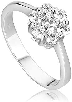 Anillo Magic para mujer oro blanco 18kt (750/000) con diamantes 0,11ct F–VVS
