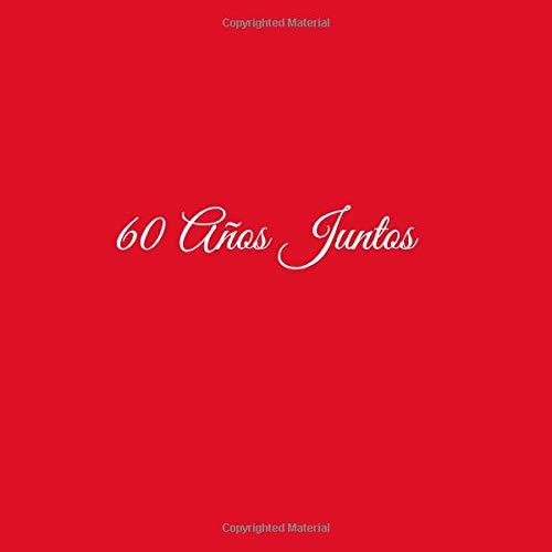 60 Años Juntos ..: Libro De Visitas 60 años juntos para Aniversário de Bodas decoracion accesorios ideas regalos eventos firmas fiesta hogar invitados .