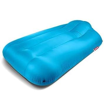lamzac Fatboy XXXL Sofa Inflable Grande | Aqua Blue/Azul ...