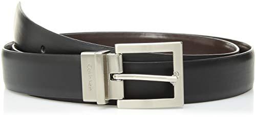 Calvin Klein Women's Reversible Belt, Black/Brown, 2X