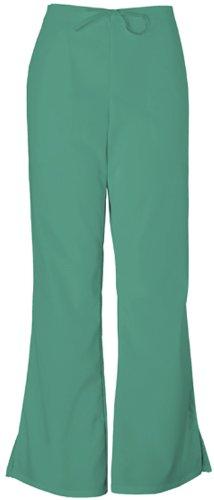 Cherokee Workwear Originals Women's Natural Rise Flare Leg Scrub Pants Medium Surgical Green
