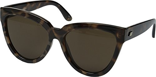 Le Specs Women's Liar Liar Sunglasses, Volcanic Tort/Brown Mono, One - Le Specs Sunglasses