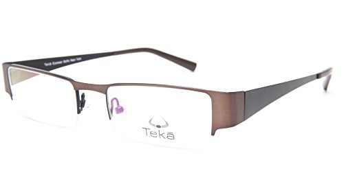 NEW Teka Eyewear Soho New York 202 Col. 3 BROWN EYEGLASSES FRAME 49-18-138 - Eyeglass Soho Frames