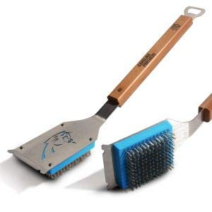 Nfl Portable Grill - NFL Carolina Panthers Grill Brush, YouTheFan
