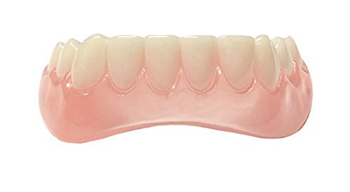 Professional Cosmetic Lower Teeth - New from Instant Smile! Hand crafted detail, custom fit at home! ()