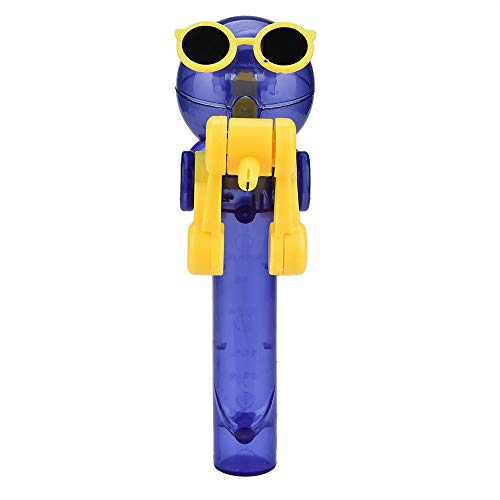 (Lollipops Artifact Creative - Roysberry Toys Funny Eating Lollipop Robot Holder 3D Puzzle Shape Color Recognition Geometric Board Block Alphabet Birthday Gift Kids Lollipop stockerc Toy (Yellow))