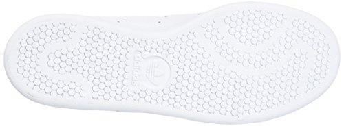 Adidas Stan Smith Blanc chaussures Bas Unisexe Blanc Chaussures Haut En Formateur Originals 0 Adultes Gris Blanc Trois q0x1YwRrq5