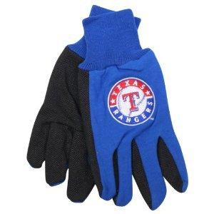 Texas Rangers MLBすべて目的ユーティリティグリップ手袋 B008V5IZMG