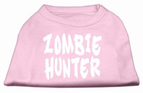 Zombie Hunter Bildschirm Print Shirt Light Pink XL (16)