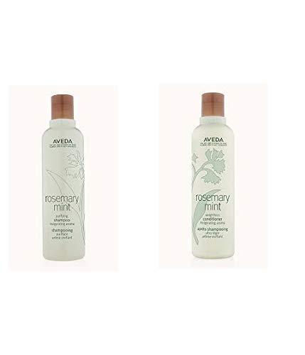 Aveda Rosemary Mint Purifying Shampoo 8.5oz & Weightless Conditioner 8.5oz Set by AVEDA