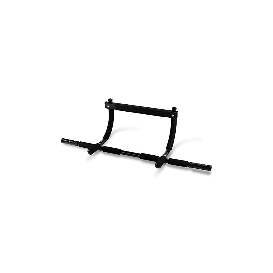 Yes4All SXP Doorway Pull Up Bar – 3 Thick Padded Grip Positions – Support to 300 lbs & 24 – 32 inch Fit Doorway