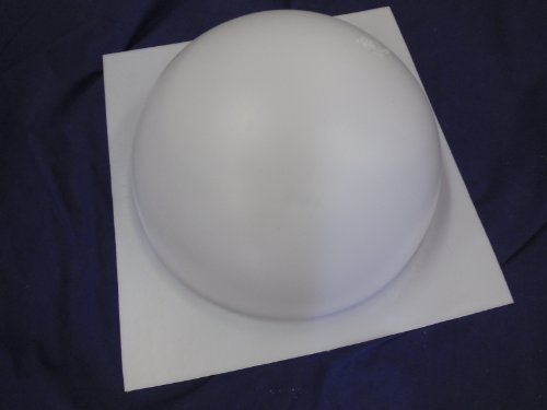12 Inch Half Ball Sphere Concrete or Plaster Mold 7012