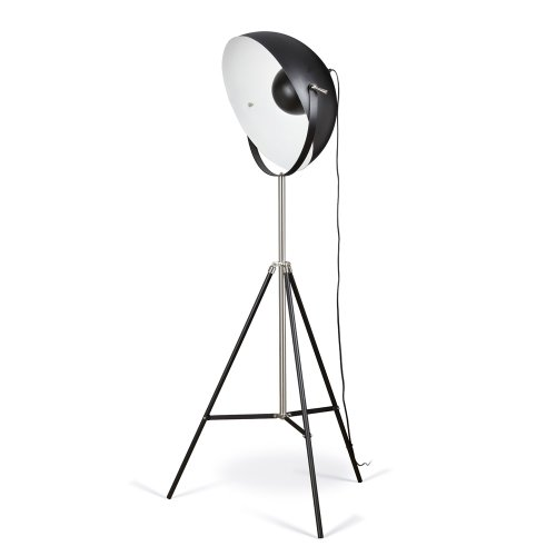 Artiva USA Jumbo Studio, Tripod Design, 72-Inch Black Metal Floor Lamp with Adjustable Dome Shade for Lighting and Picture Taking by Artiva USA