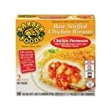 Barber Foods Chicken Parmesan Stuffed Chicken Breast Entree, 2.5 Ounce -- 12 per case.