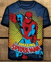 Camiseta Spiderman de guarder/ía